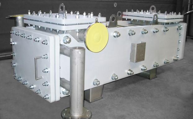 ساخت و طراحی مبدل حرارتی صفحه ای جوشی