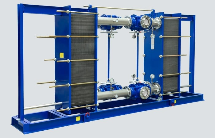 طراحی مبدل حرارتی صفحه ای واشردار
